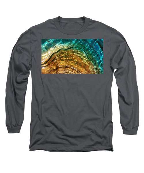 Organic Flow Long Sleeve T-Shirt by Caryl J Bohn