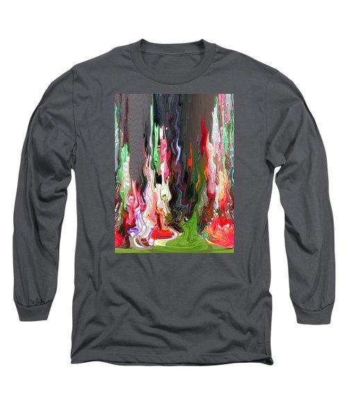 Organic Impressions 4 Long Sleeve T-Shirt by Cedric Hampton