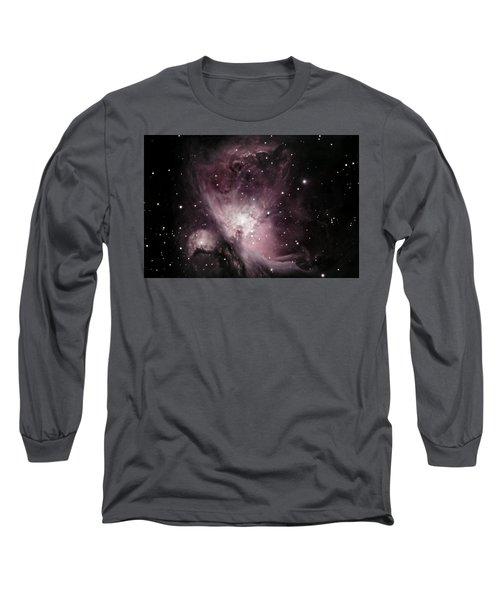 Orion Nebula M42 Long Sleeve T-Shirt