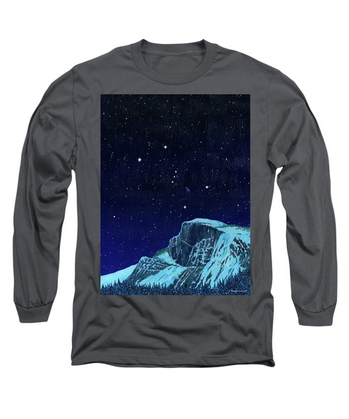 Orion Over Yosemite Long Sleeve T-Shirt