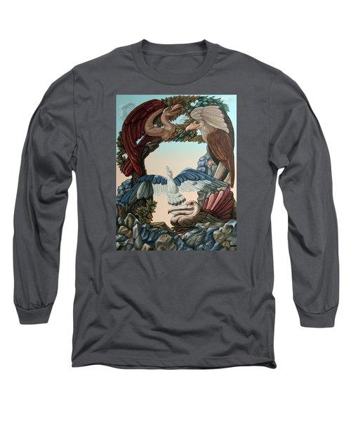 Ornithological Symphony By Ludwig Van Beethove Long Sleeve T-Shirt