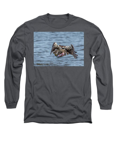 Osprey With Catch 9108 Long Sleeve T-Shirt