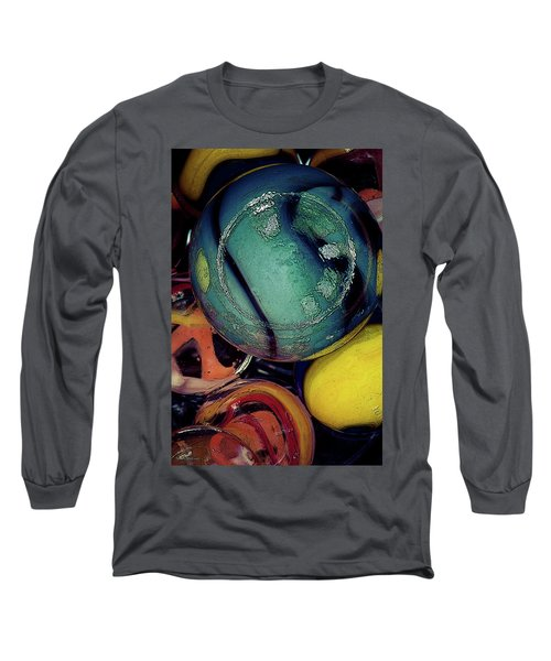 Other Worlds I Long Sleeve T-Shirt by Shelly Stallings