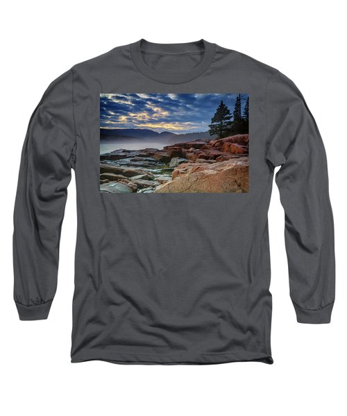 Otter Cove In The Mist Long Sleeve T-Shirt