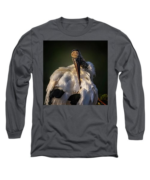 Ouch Long Sleeve T-Shirt by Cyndy Doty