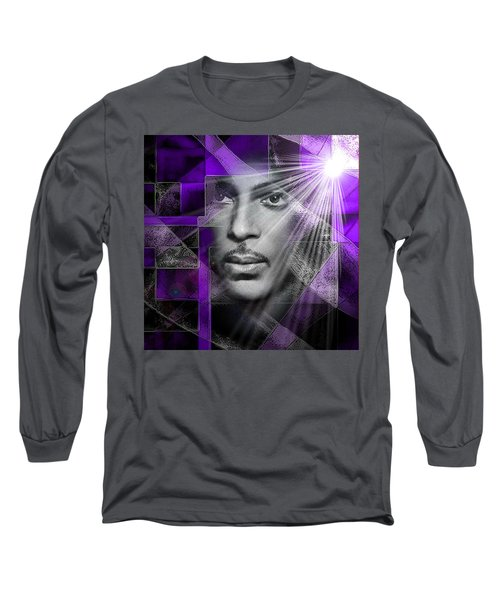 Our Beautiful Purple Prince Long Sleeve T-Shirt