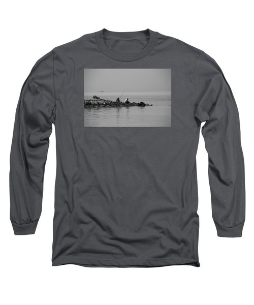 Long Sleeve T-Shirt featuring the photograph Our Quiet Chats About Life by Jez C Self