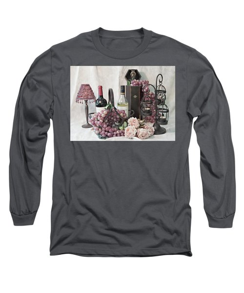 Long Sleeve T-Shirt featuring the photograph Our Wine Cellar by Sherry Hallemeier