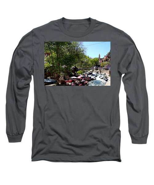 Long Sleeve T-Shirt featuring the photograph Ourika Valley 1 by Andrew Fare