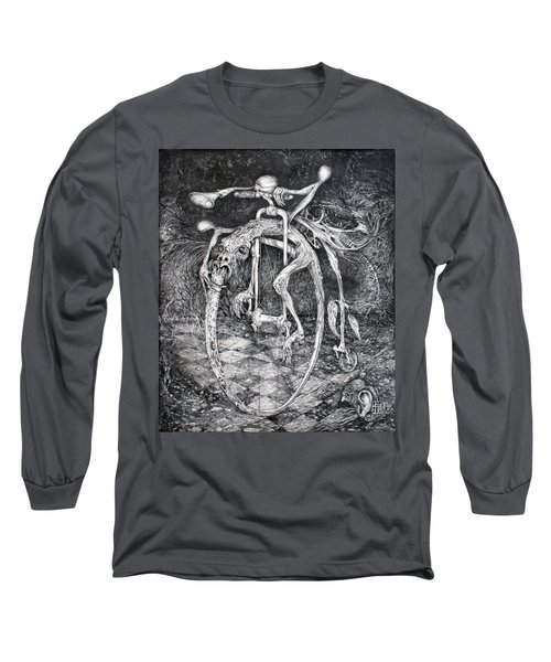 Ouroboros Perpetual Motion Machine Long Sleeve T-Shirt