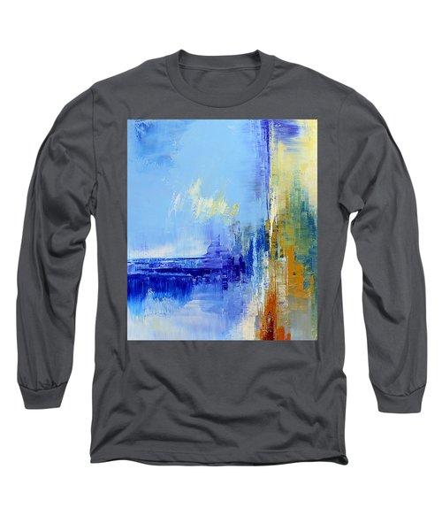Out Of The Blue Long Sleeve T-Shirt by Tatiana Iliina
