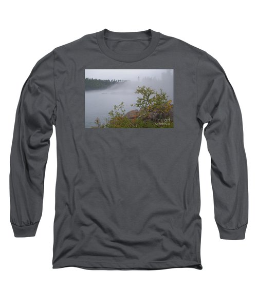 Long Sleeve T-Shirt featuring the photograph Out Of The Fog by Sandra Updyke