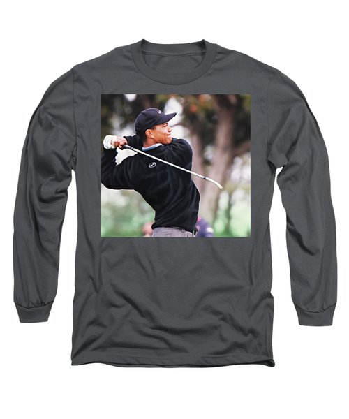 Long Sleeve T-Shirt featuring the digital art Out Of The Woods by Don Olea