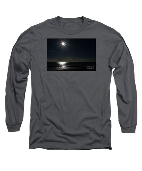 Long Sleeve T-Shirt featuring the photograph Out To Sea  by Gary Bridger