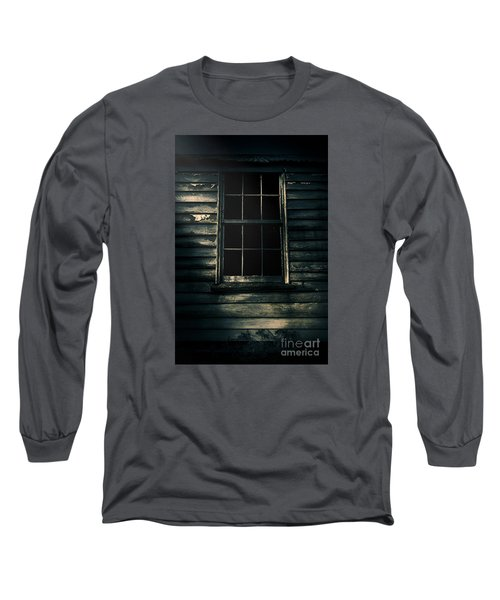 Long Sleeve T-Shirt featuring the photograph Outback House Of Horrors by Jorgo Photography - Wall Art Gallery