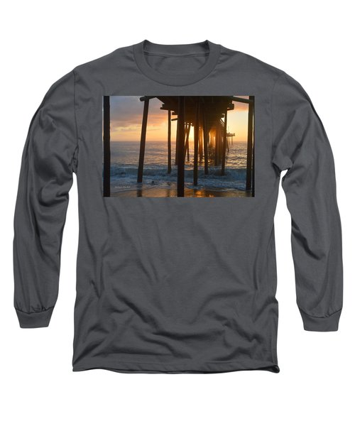 Outer Banks Pier 7/6/18 Long Sleeve T-Shirt