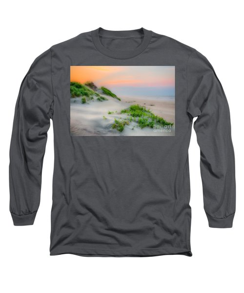 Outer Banks Soft Dune Sunrise Long Sleeve T-Shirt by Dan Carmichael