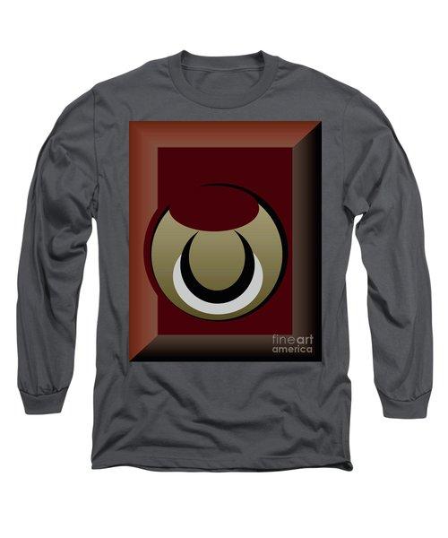 Long Sleeve T-Shirt featuring the digital art Outside The Box by John Krakora