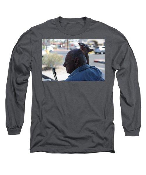 Outside The Cafe Long Sleeve T-Shirt