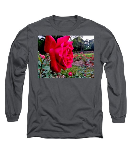 Long Sleeve T-Shirt featuring the photograph Outstanding by Robert Knight