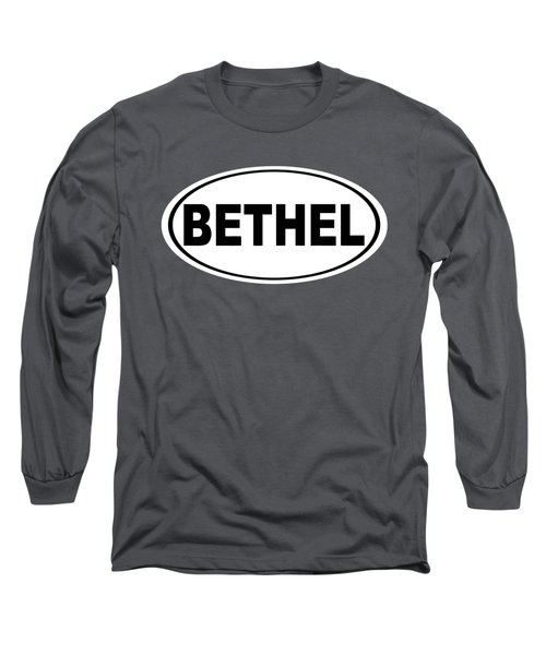 Long Sleeve T-Shirt featuring the photograph Oval Bethel Connecticut Home Prid by Keith Webber Jr