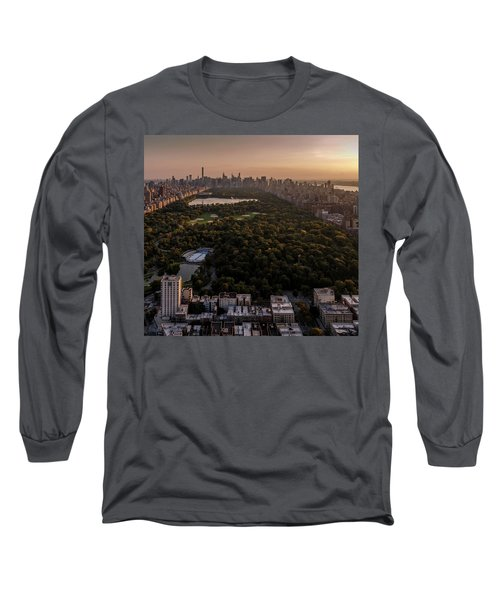 Over The City Central Park Long Sleeve T-Shirt