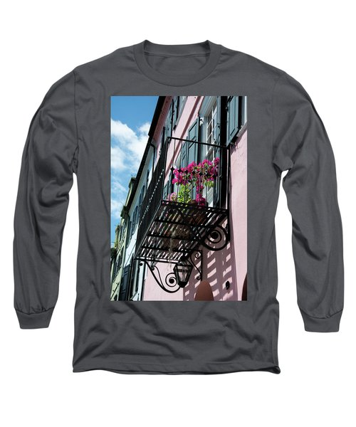 Over The Rainbow Long Sleeve T-Shirt by Ed Waldrop