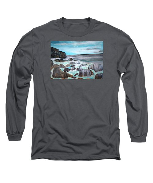 Over The Rocks Long Sleeve T-Shirt