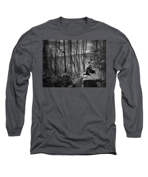 Overlook By Rainbow Falls Long Sleeve T-Shirt