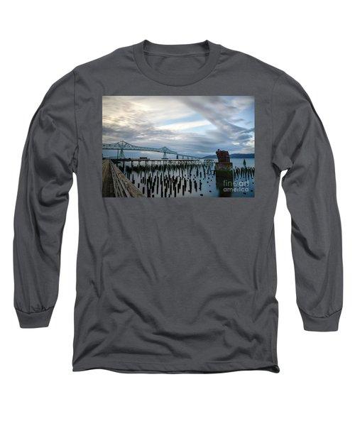 Overlooking The Bridge Long Sleeve T-Shirt