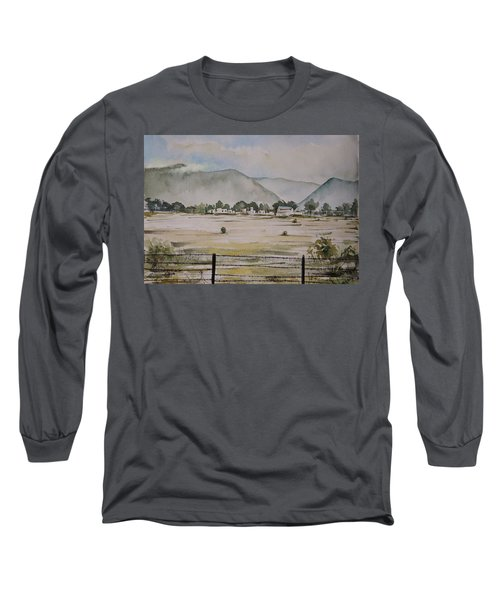 Overlooking The Hills Long Sleeve T-Shirt