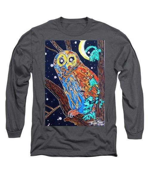Owl Light Long Sleeve T-Shirt