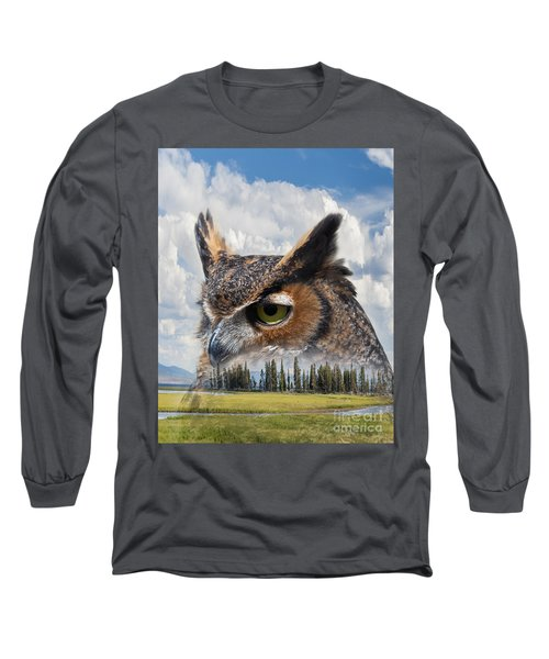 Owl's Rest Long Sleeve T-Shirt