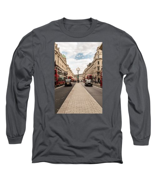 Oxford Street In London Long Sleeve T-Shirt