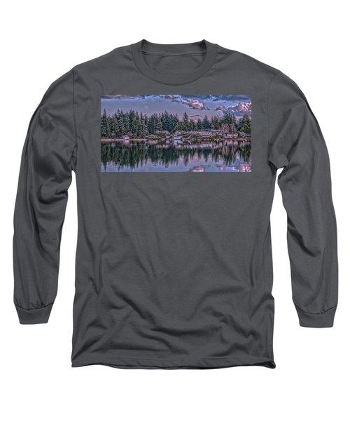 Oyster Bay 1 Long Sleeve T-Shirt by Timothy Latta