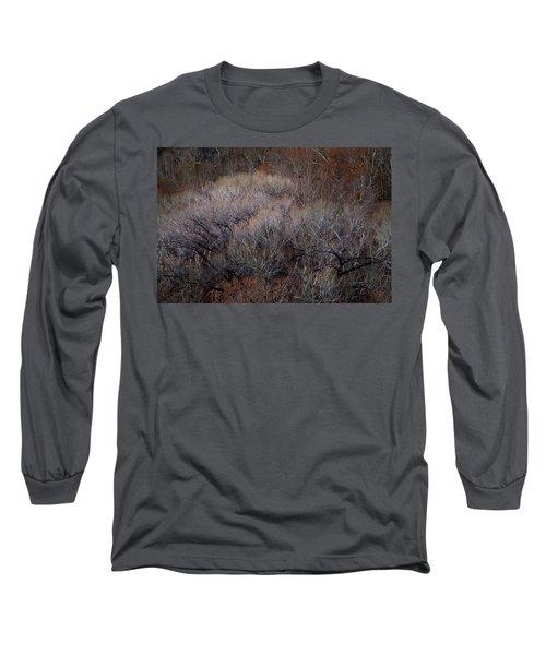 Ozarks Trees #5 Long Sleeve T-Shirt