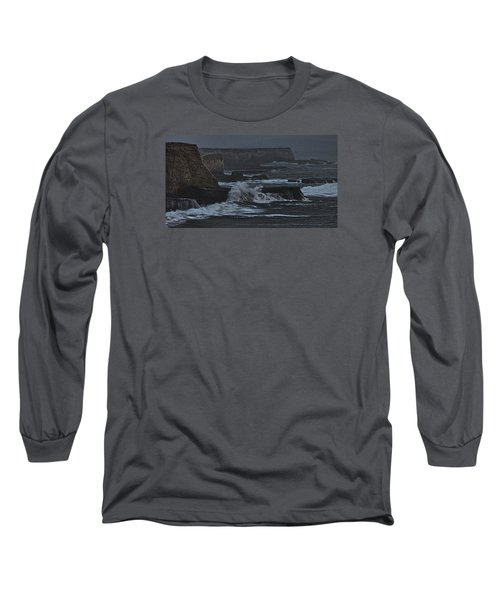 Pacific Cliffs Of Davenport Long Sleeve T-Shirt