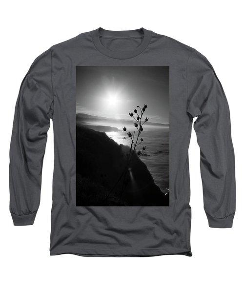 Pacific Coast B/w Long Sleeve T-Shirt