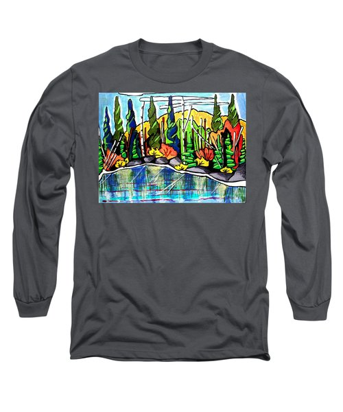 Pacific Coast Forest Long Sleeve T-Shirt