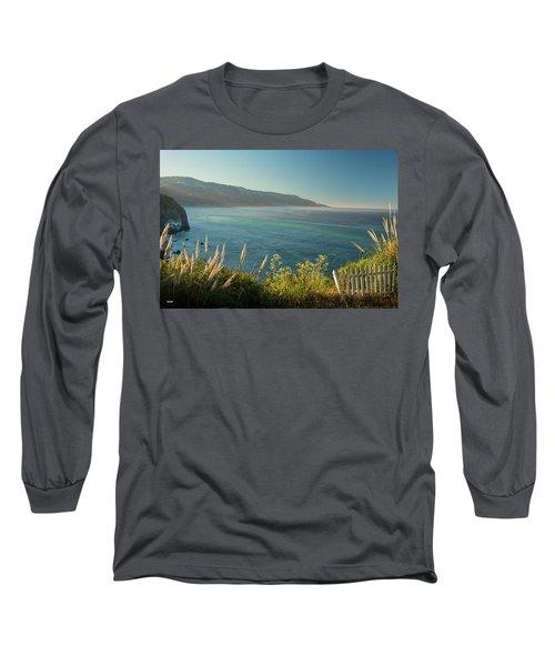 Long Sleeve T-Shirt featuring the photograph Pacific Ocean, Big Sur by Dana Sohr