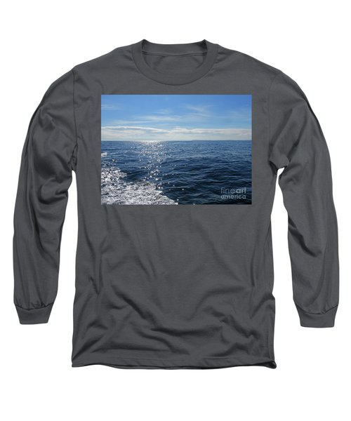 Pacific Ocean Long Sleeve T-Shirt by Cindy Murphy - NightVisions