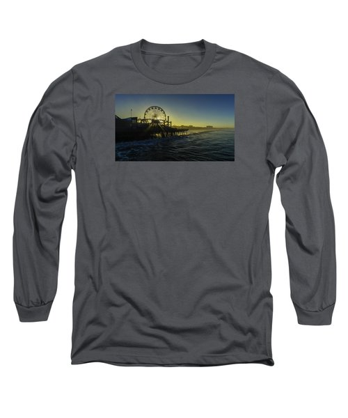 Pacific Park Ferris Wheel Long Sleeve T-Shirt
