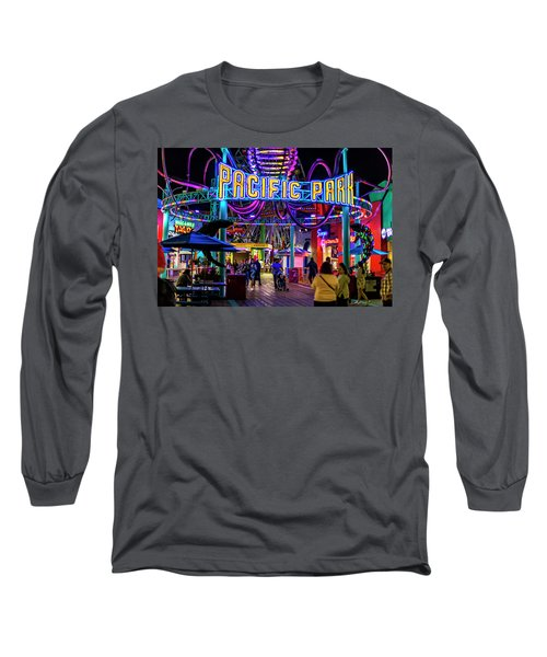 Pacific Park - On The Pier Long Sleeve T-Shirt
