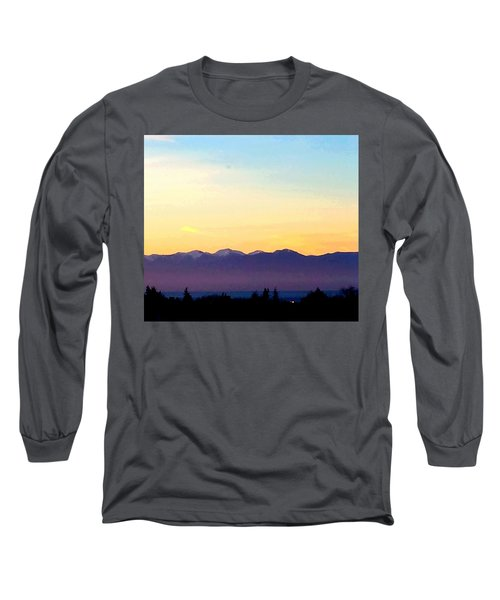 Pacific Twilight Long Sleeve T-Shirt