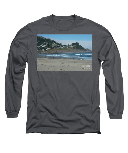 Long Sleeve T-Shirt featuring the photograph Pacifica California by David Bearden