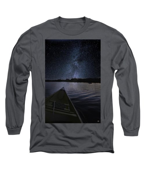 Paddling The Milky Way Long Sleeve T-Shirt