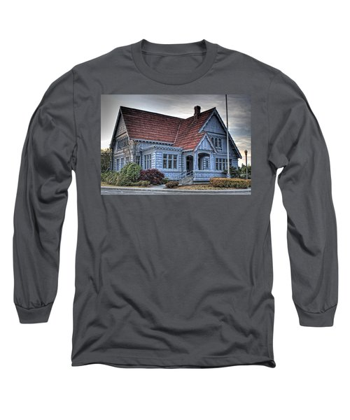 Painted Blue House Long Sleeve T-Shirt