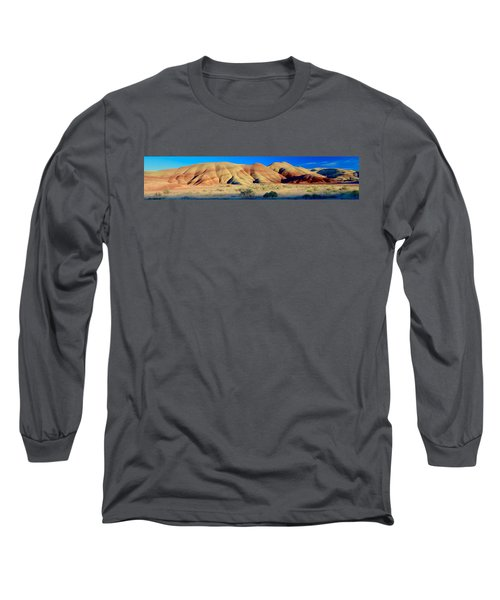 Painted Hills Extreme Pano  Long Sleeve T-Shirt