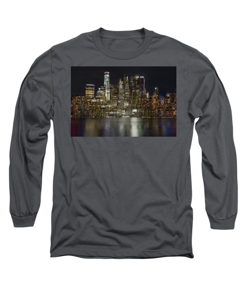 Painted Lights Long Sleeve T-Shirt