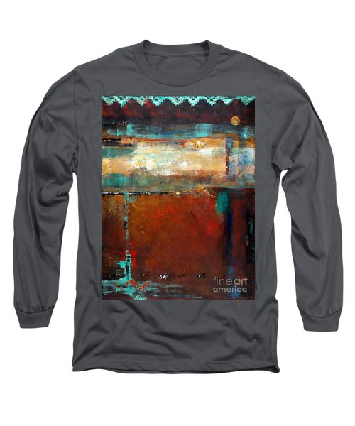 Painted Ponies Long Sleeve T-Shirt by Frances Marino
